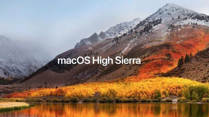 High Sierra 10.3.4