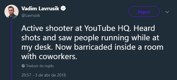 twitter ataque youtube