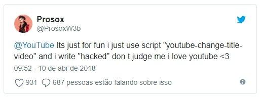 twitter do hacker responsável ataque